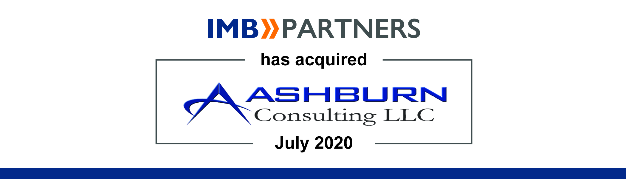 IMB Partners Acquires Ashburn Consulting, Expanding Its Presence in Government IT Services